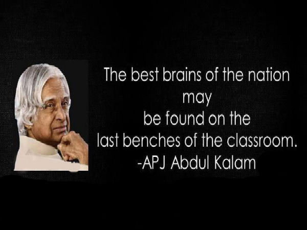 Best Inspirational Quotes By Abdul Kalam: APJ Abdul Kalam Motivational Quotes