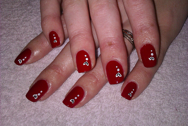 simple and easy nail art step by step