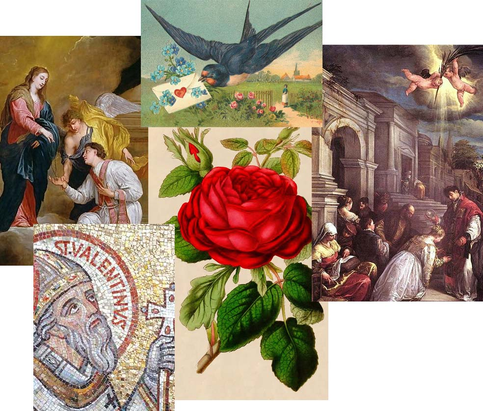 history of valentine's day images