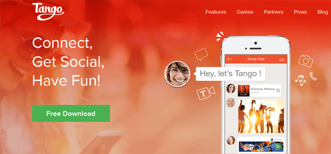 Tango-messenger for iphone