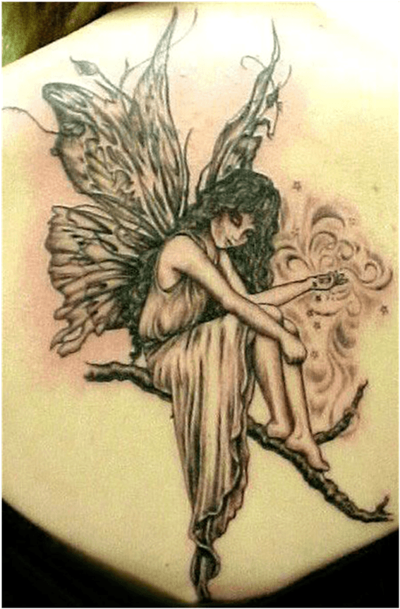 fairies tattoo ideas for women