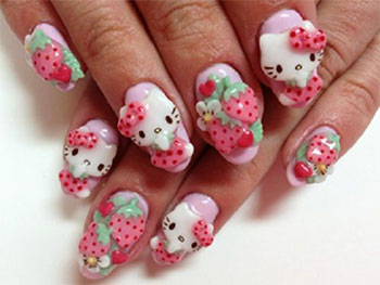 15-Best-Hello-Kitty-3D-Nail-Art-Designs-Ideas-Trends-Stickers-2014-7