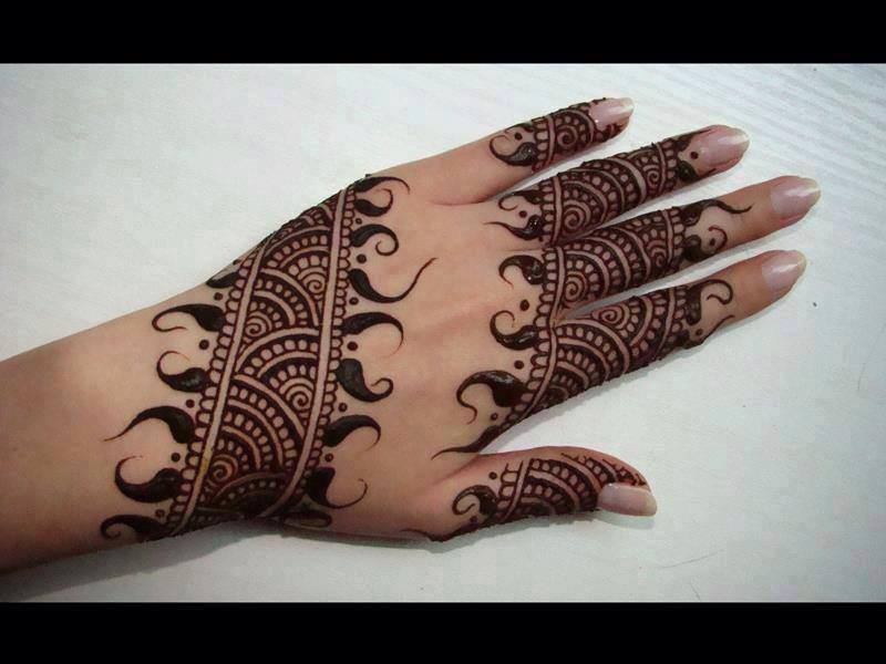 Latest Mehndi Designs For Eid 2019 Arabic Images