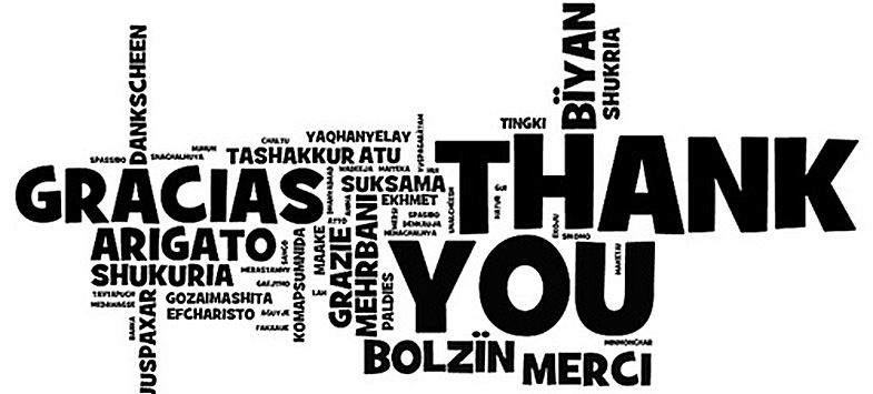 thank-you-quotes in different languages
