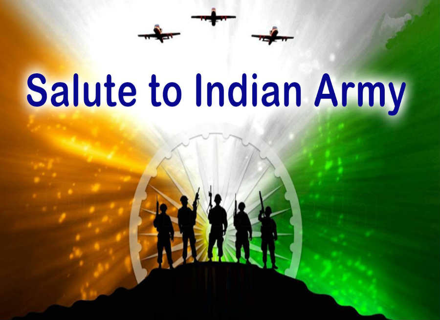 indian-army on Independence day salute