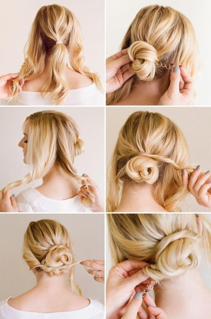 Easy-Chic-Updo-Hairstyle-Tutorial