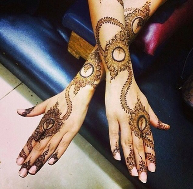New Stylish Mehndi Designs for Eid 2016 2017