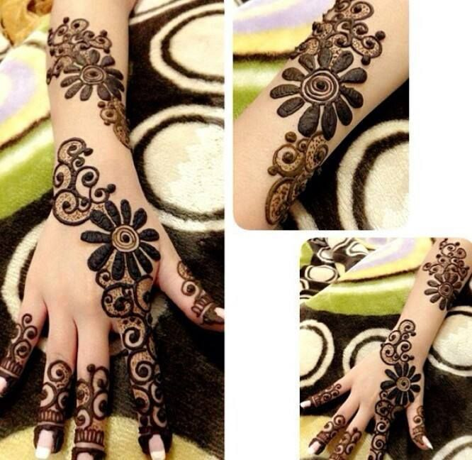 eid henna designs for girls 2016