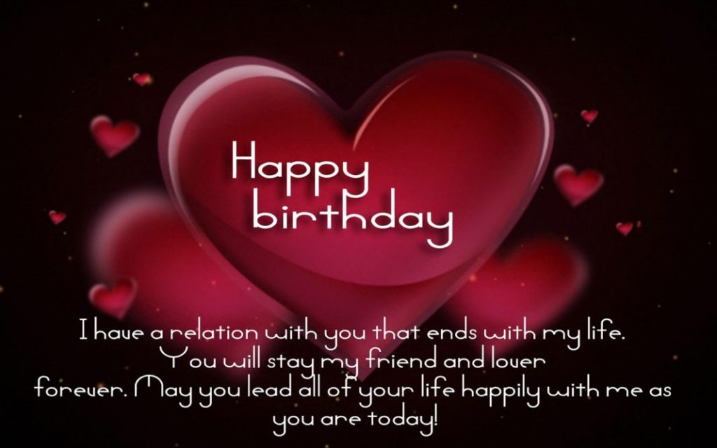 Happy Birthday my love images for spouse