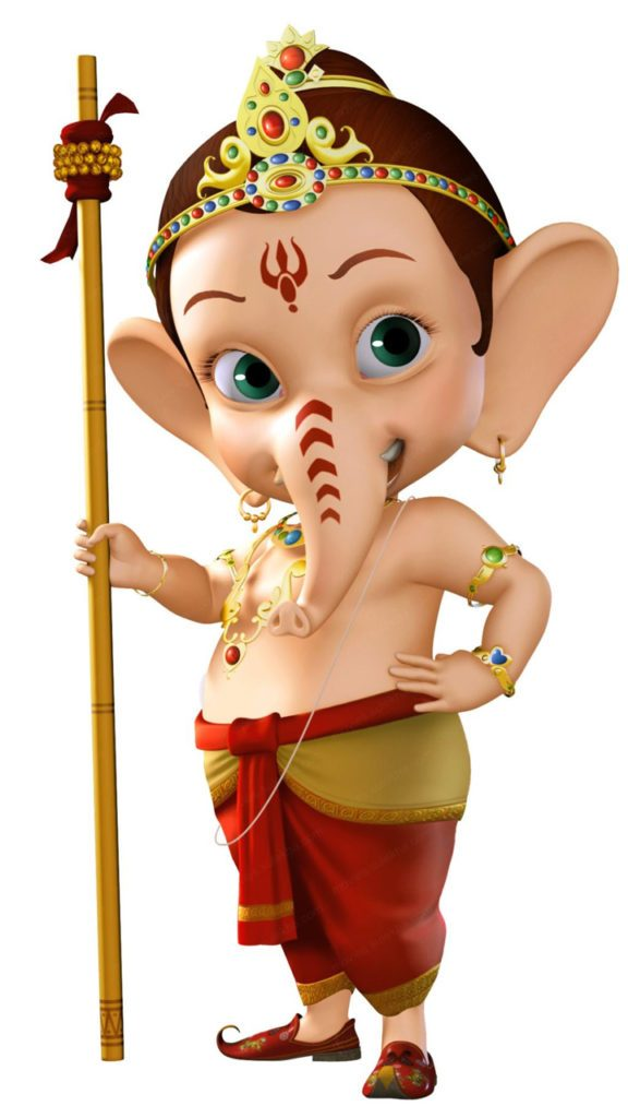 Top 50 Ganpati Cartoon Images HD Wallpapers Latest Pictures Animated images
