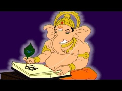 animated bal ganesh image