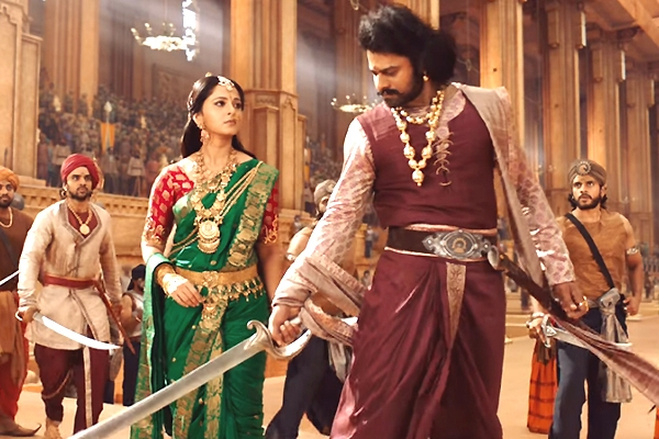 Image of Devsena and prabhas