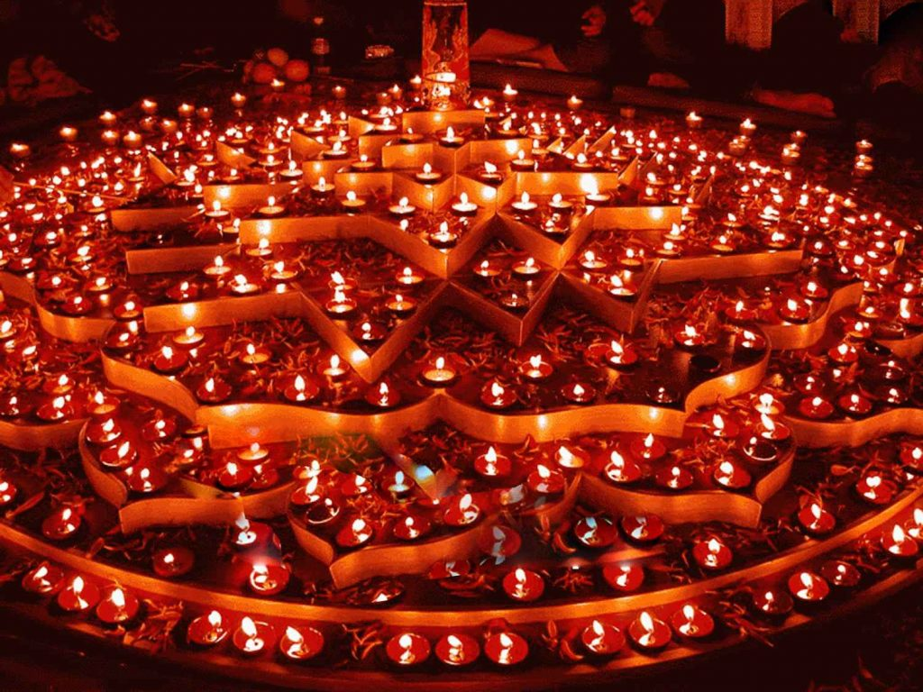 Diwali-Festival-of-Lights shri yantra puja