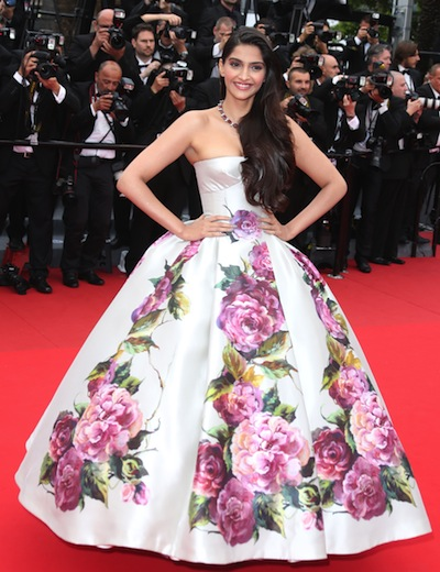 Sonam-in-Gown