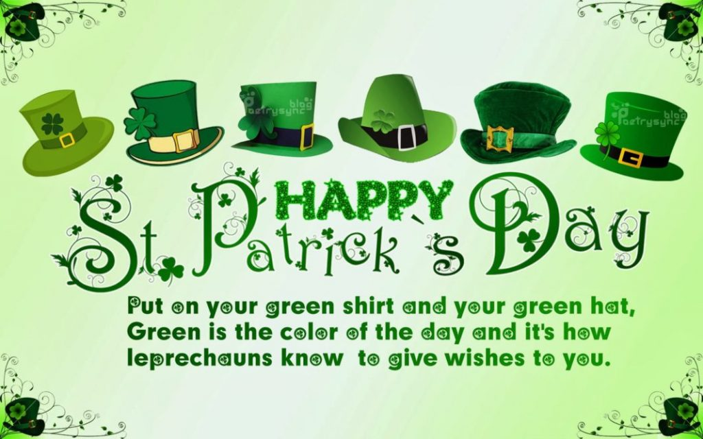 Happy St Patrick's day 2018 quotes, images, sayings, blessings, idioms