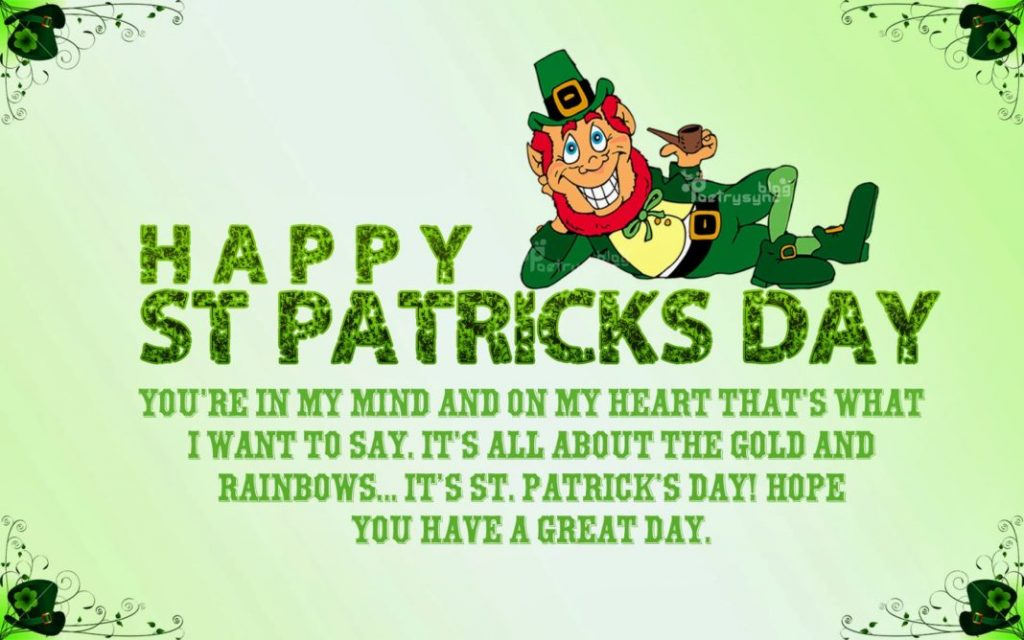 St. Patrick's Day Quotes and Images