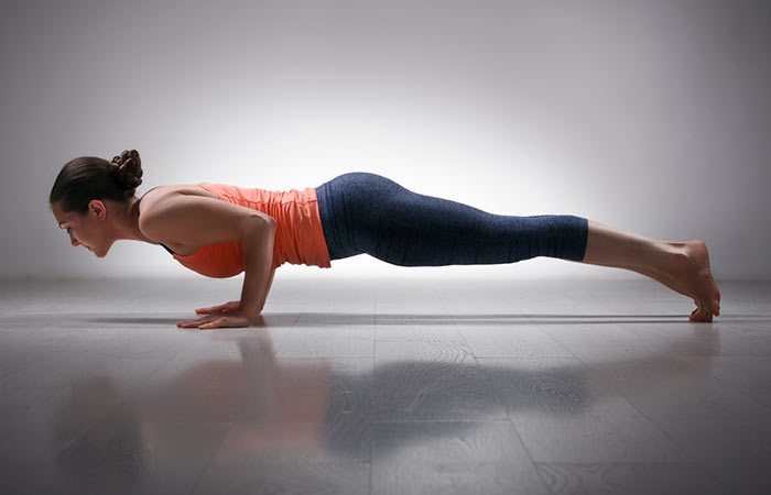 Chaturanga-Dandasana-Plank-Pose - power yoga