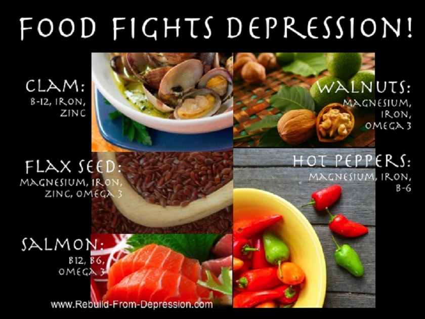 depression_health Five best foods that help with depression