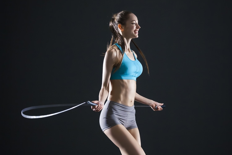 Smart rope for fitness