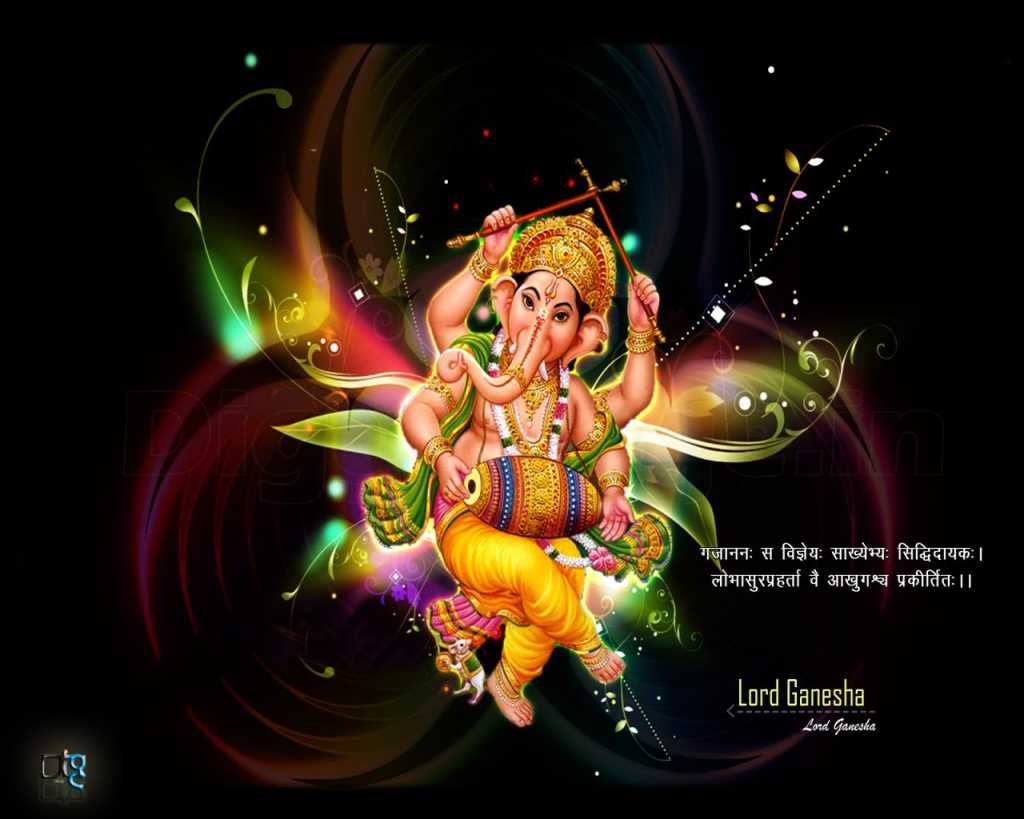 Ganesh Festival Greetings in Hindi free download for pC wallpaper